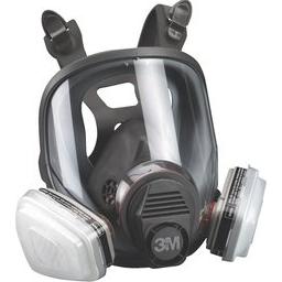 Apsauginė kaukė 3M 6000 su filtrais
