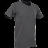 Marškinėliai ST9600, tamsiai pilki