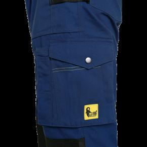 Kelnės darbui STRETCH, mėlynos (kišenė)