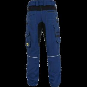 Kelnės darbui STRETCH, mėlynos (nugara)