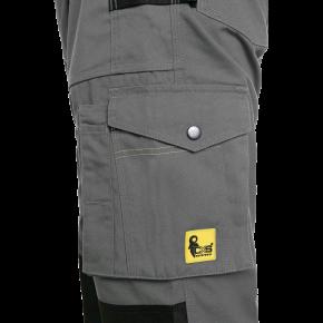 Puskombinezonis darbui STRETCH, pilkas (kišenė)