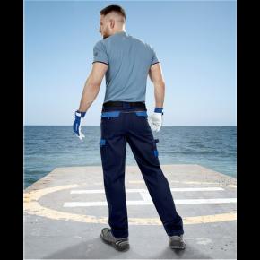 Darbo kelnės COOL TREND, mėlynos (nugara)