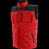Darbinė liemenė SEATTLE, žieminė, raudona-juoda