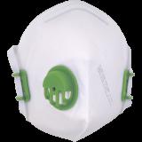 Respiratorius XF310 V FFP3, su vožtuvu, sulankstomas