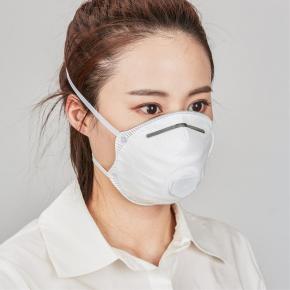 Respiratorius ZH3081V FFP3, kaušelio formos, su vožtuvu (dirželiai)