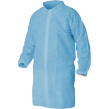 Chalatas LCL501, mėlynas
