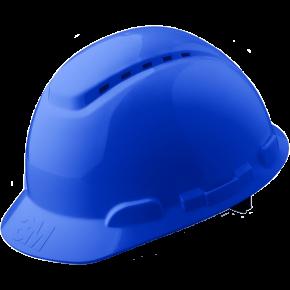 Šalmas 3M H-700, ventiliuojamas, mėlynas