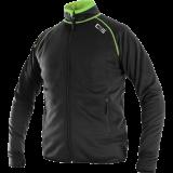 Džemperis TORONTO, juodas-žalias, vyriškas