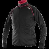 Džemperis TORONTO, juodas-raudonas 1
